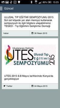 UTES 2015 apk screenshot