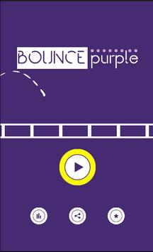 Bounce Purple poster