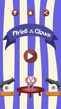 Flying Clown poster