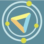 Triangle Dots icon