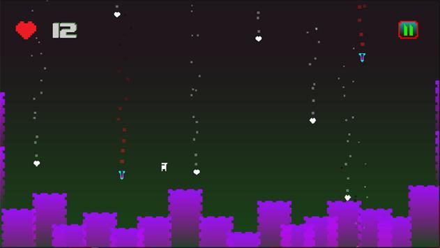 White Winner - Pixel Jump Arcade Game screenshot 2