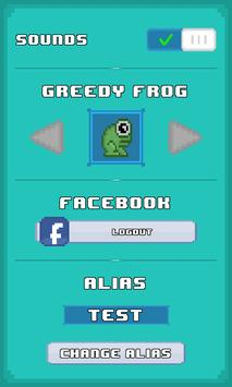 Greedy Frog apk screenshot