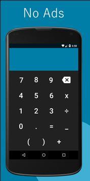 Calculator M poster