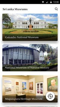 Sri Lanka Museums الملصق
