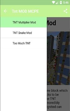 Tnt MOD MCPE$ screenshot 1