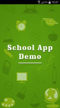 Demo School App poster