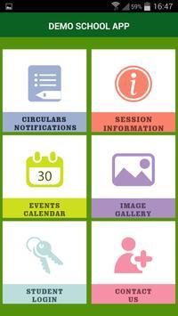 Demo School App apk screenshot