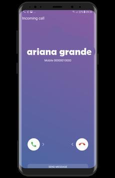 Ariana  Grande  fake  call screenshot 4