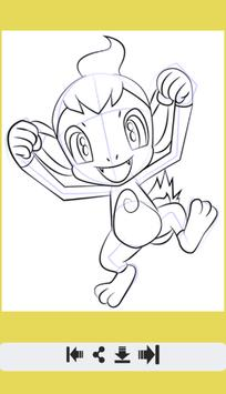 How to Draw Fire Pokemon screenshot 7