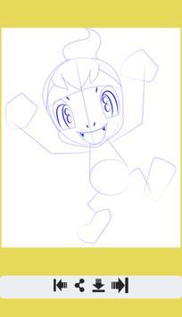 How to Draw Fire Pokemon screenshot 6
