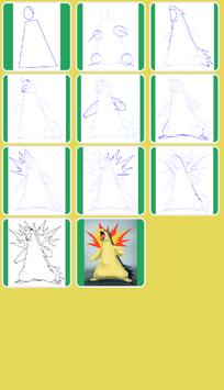 How to Draw Fire Pokemon screenshot 8