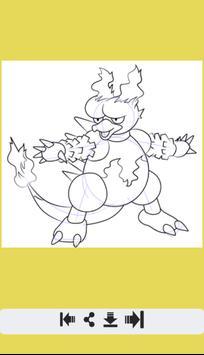 How to Draw Fire Pokemon screenshot 9