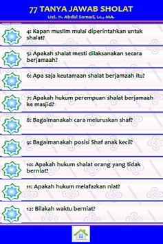 77 Tanya Jawab Sholat apk screenshot
