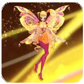 Princess Flora Winx Run icon