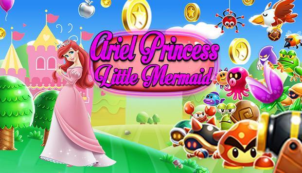 Ariel Princess Mermaid Runner apk screenshot