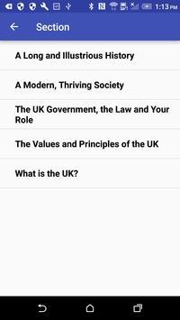 Life in the UK test 2018 screenshot 6