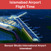 Islamabad Airport Flight Time icon