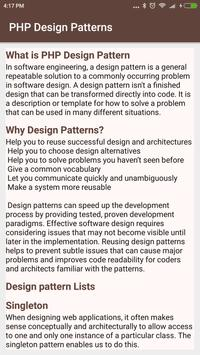 PHP Design Pattern Tutorial screenshot 1