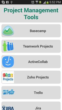 Project Management Tools poster