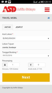 Travel Arifin screenshot 2