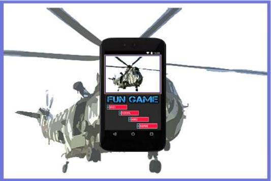 Army Helicopter poster