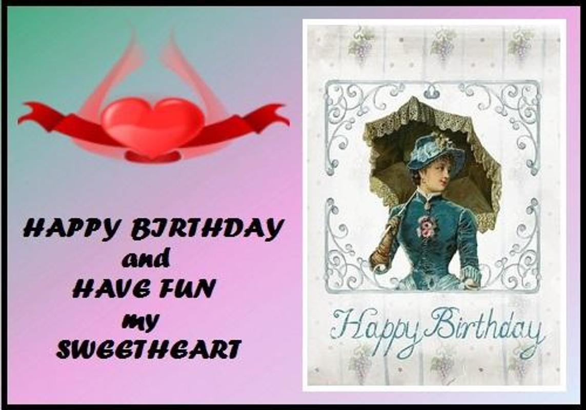 Happy Birthday Sweetheart For Android Apk Download