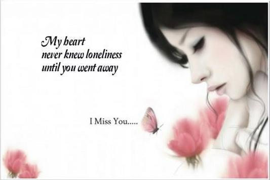 I miss you greeting card apk download free entertainment app for i miss you greeting card poster m4hsunfo