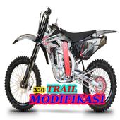 350 Modifikasi Motor Trail icon