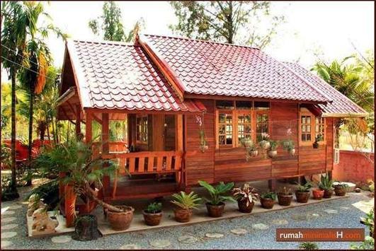 400+ Minimallis Rumah Kayu screenshot 7