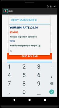 BMI screenshot 2