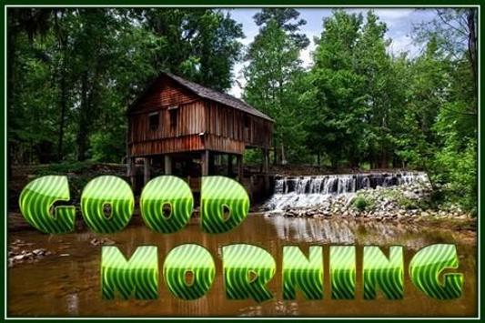 Good Morning Image poster
