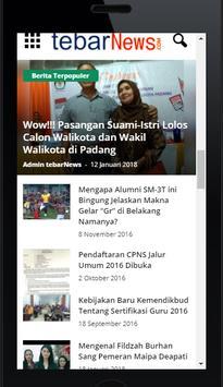 Tebar News - Portal Berita screenshot 3