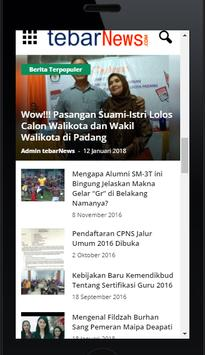 Tebar News - Portal Berita screenshot 15