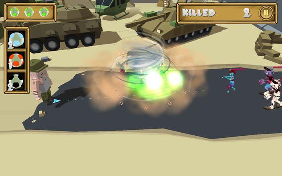 Army VS Zombies Shooter apk screenshot