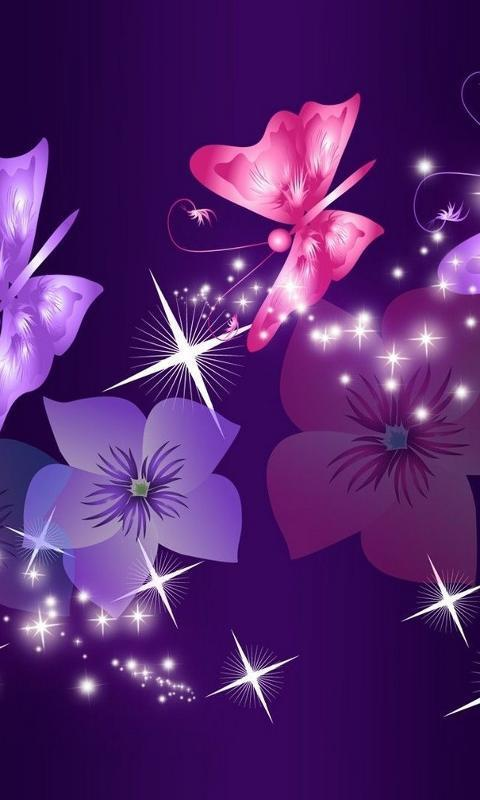 Purple neon butterfly 3d new themes apk download free purple neon butterfly 3d new themes apk screenshot altavistaventures Images