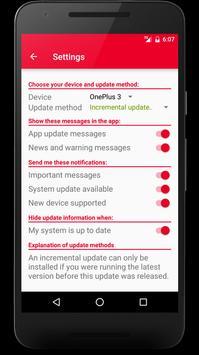 Oxygen Updater apk screenshot