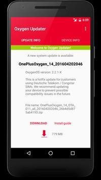 Oxygen Updater poster