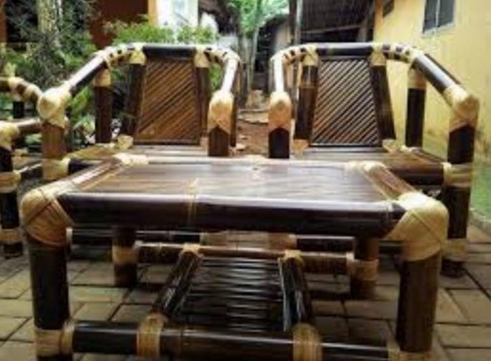 55+ Desain Kursi Bambu HD Terbaik