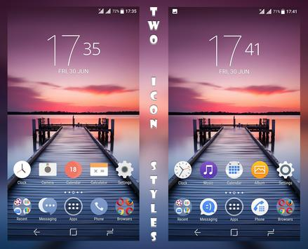 X Serenity Theme For Xperia poster