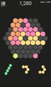 Hexagonal Puzzle apk screenshot