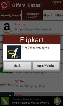 Offers' Bazaar apk screenshot