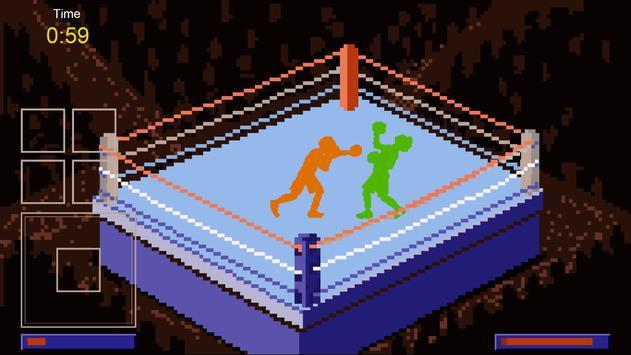Pixel Boxers Free poster