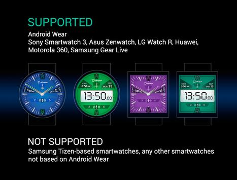 ARoglyph Watch Faces poster