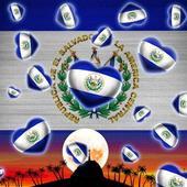 El Salvador Flag Wallpaper icon