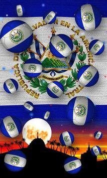 El Salvador Flag Wallpaper screenshot 3