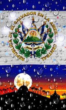El Salvador Flag Wallpaper screenshot 4