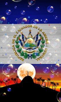 El Salvador Flag Wallpaper screenshot 5