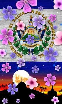 El Salvador Flag Wallpaper screenshot 6