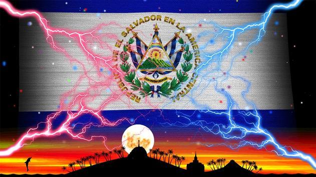 El Salvador Flag Wallpaper screenshot 8