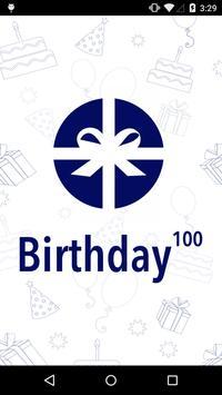 Birthday^100 poster